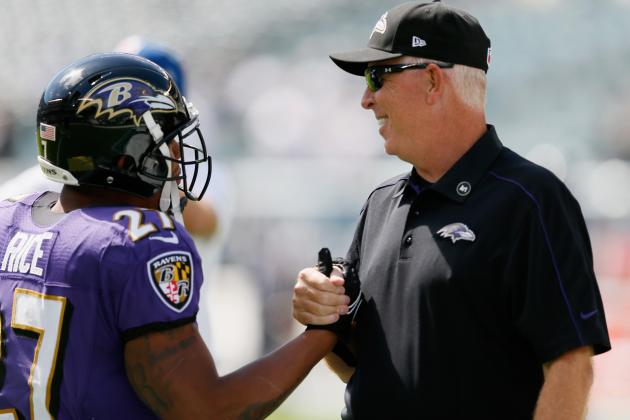 Ray Rice Reacts to Offensive Coordinator Change