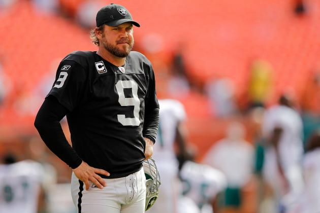 Are These Lechler's Last Days with the Raiders?