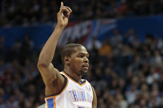 Kevin Durant Is Seeing the Game at a High Level