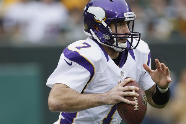 Next Three Games 'a Defining Moment' for Vikings QB Christian Ponder