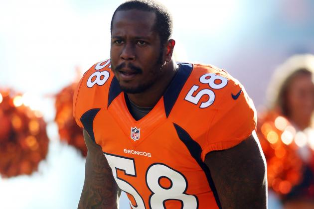 Von Miller Is on the Edge of Denver Broncos Sack Record