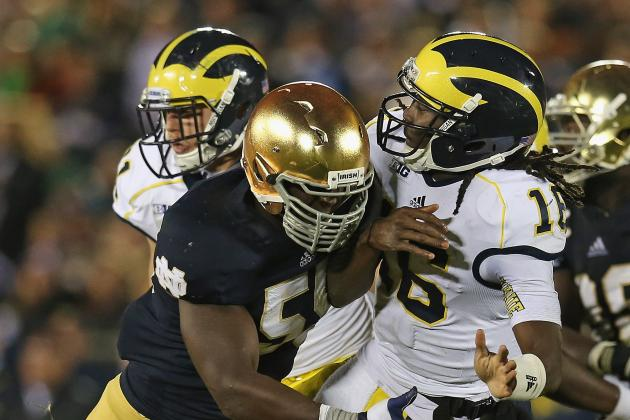 Michigan to Host Irish Under Lights in '13