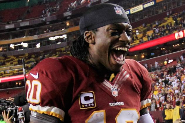 RG3 Coy on Playing Sunday  for Washington Redskins