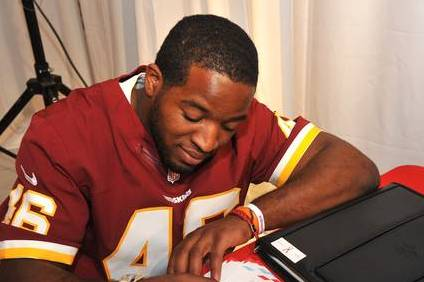 Alfred Morris Wrote a Letter to Santa Claus