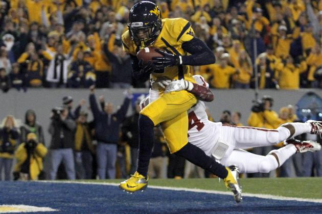 Video: West Virginia WR Stedman Bailey