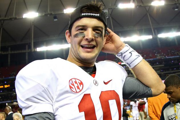 AJ McCarron to Return for Senior Season at Alabama