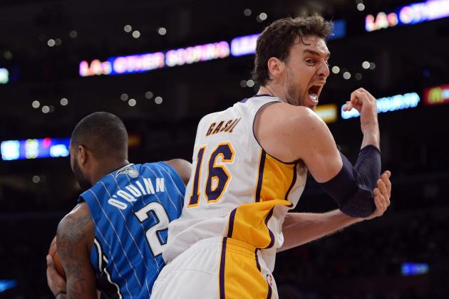 Breaking Down Pau Gasol's Trade Value to the Lakers