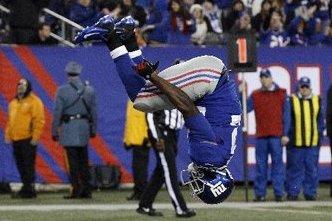 David Wilson's Backflip Celebrations Make Giants Nervous