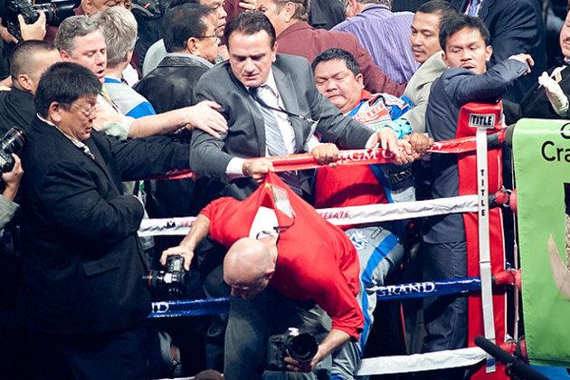 Manny Pacquiao: Team's Alleged Attack of Photographer Adds Insult to Injury