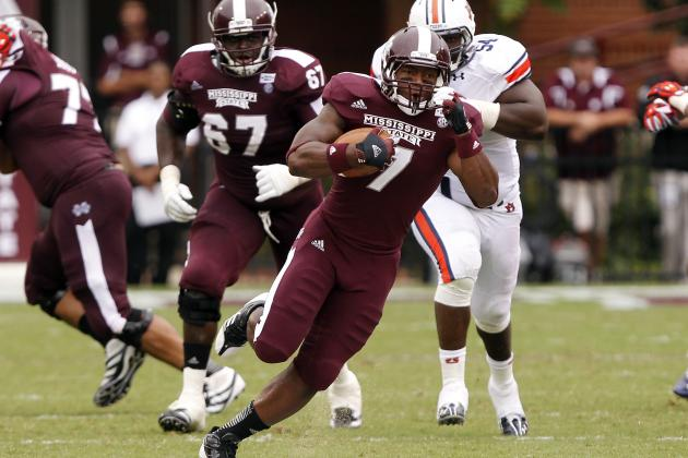 Mississippi State RB Griffin Will Miss Gator Bowl
