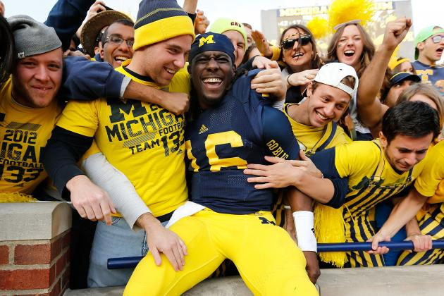 Michigan Football: Bowl Win Would Bolster Denard Robinson's NFL Draft Stock