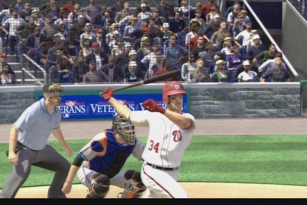 MLB 13 the Show: Bryce Harper Is First Candidate in Vote for Cover Athlete