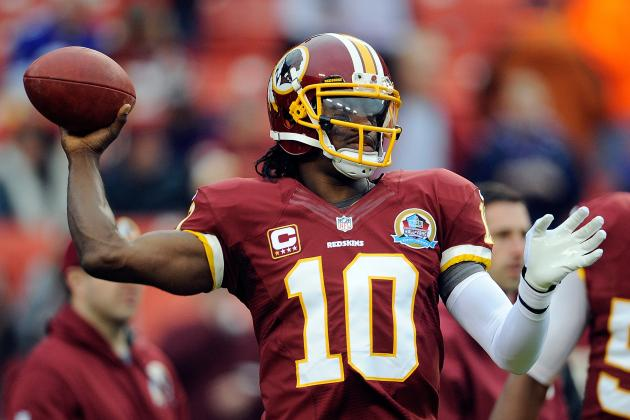 Redskins' RG3 Declares 'I Feel Good'; Shanahan Quiet on Injury Status