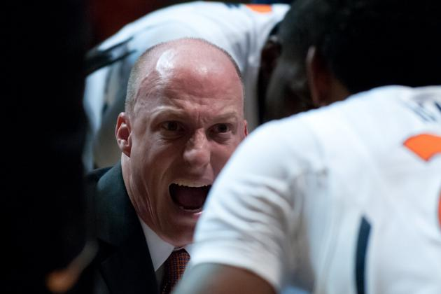 Illinois Basketball:  John Groce Has Put the Fight Back in the Illini