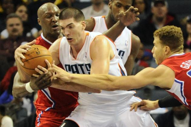 Clippers hold off Bobcats, 100-94