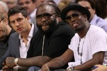 Rapper Rick Ross Is A Sacramento Kings Fan?