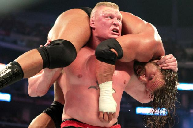 Brock Lesnar Should Face Triple H at WrestleMania 29