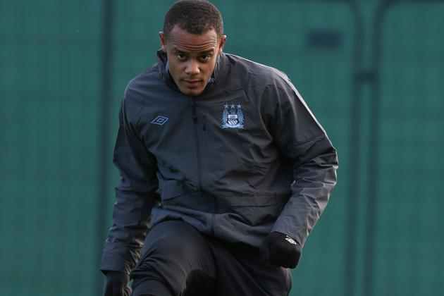Vincent Kompany Fitness Concern for Manchester City