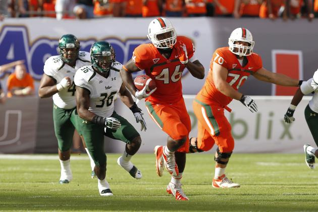 Miami Football: 2013 Hurricane Offense the Best in over a Decade?