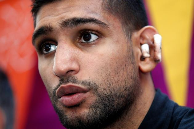 Amir Khan vs. Carlos Molina: Fight Time, Date, Live Stream, TV Info and More