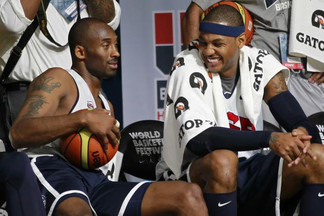 Kobe Bryant Considers Carmelo Anthony the 'Most Difficult' Player to Guard