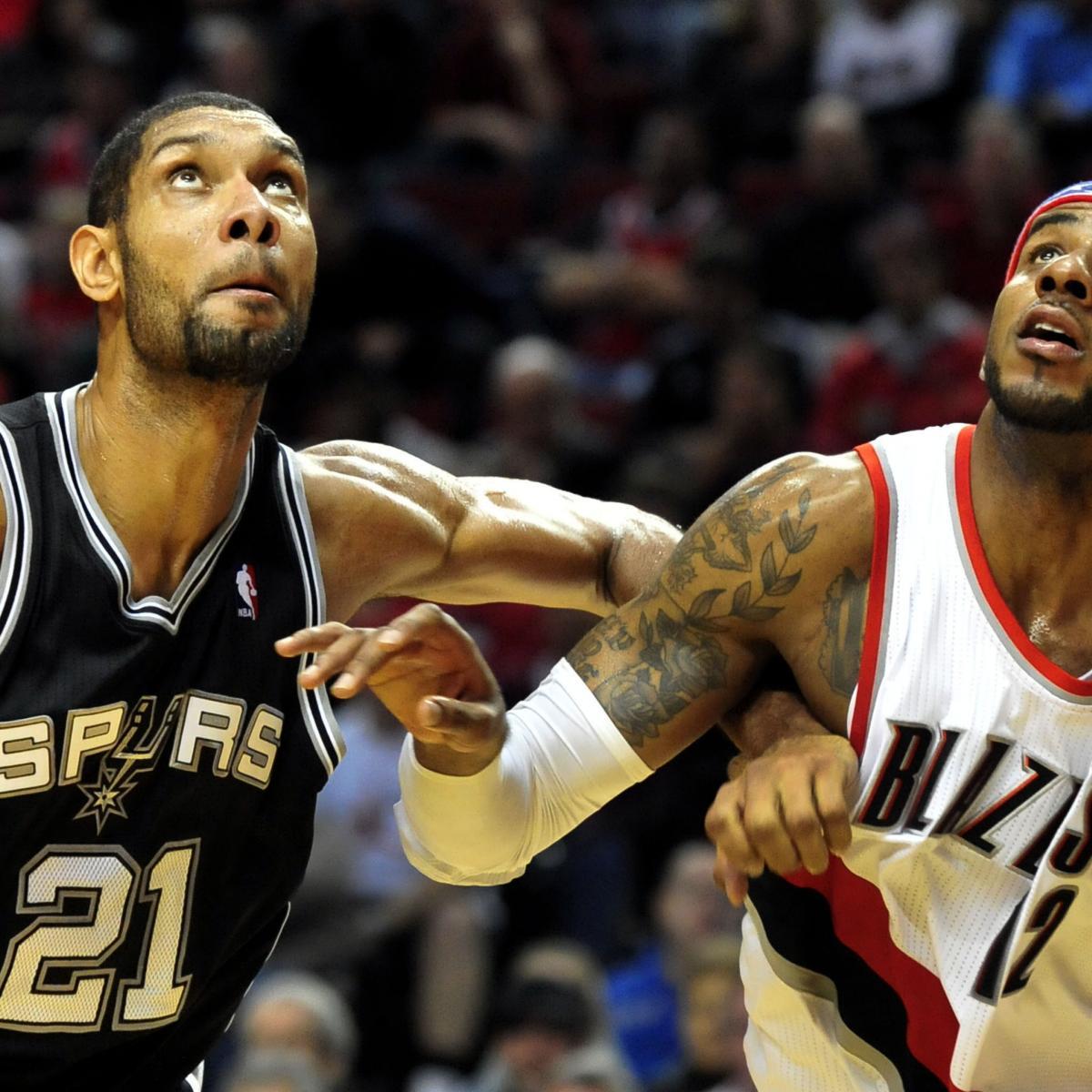 San Antonio Spurs Vs. Portland Trail Blazers: Preview