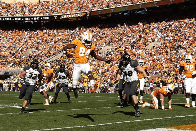 Tennessee WR Cordarrelle Patterson Officially Enters NFL Draft
