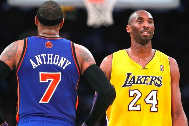 Kobe: Melo Is NBA's Toughest Cover