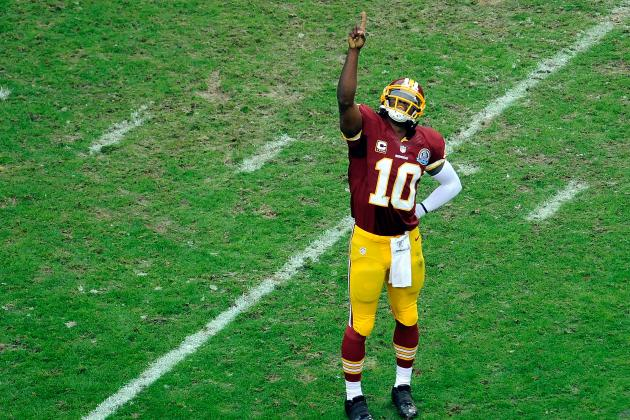 Robert Griffin III on the Practice Field a Second Straight Day