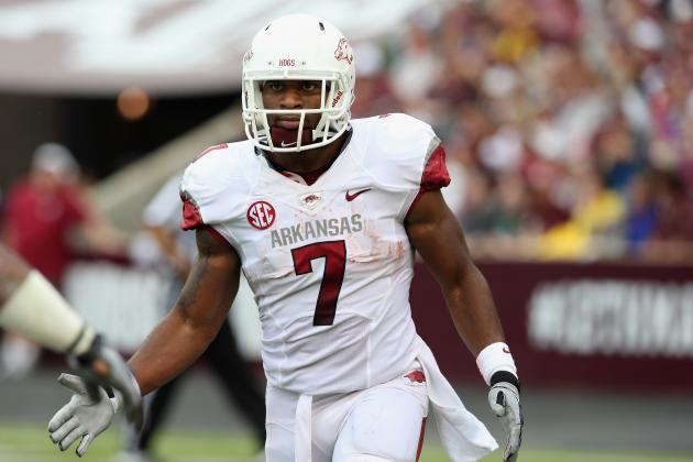 Knile Davis: Entering 2013 NFL Draft a Mistake for Arkansas RB