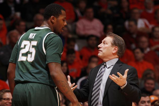Tom Izzo Believes Derrick Nix Can Improve Low-Post Scoring