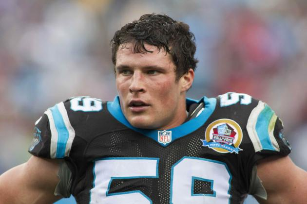 Panthers' Kuechly Is Best Defensive Rookie