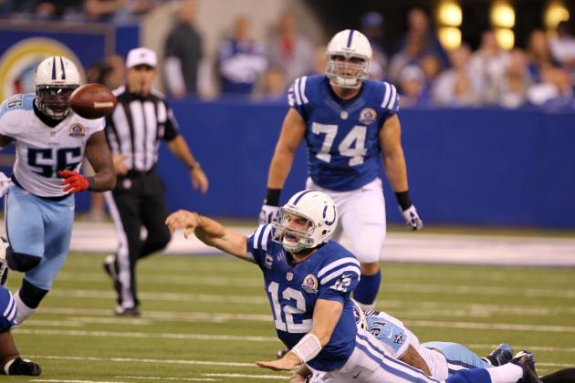 NFL on Andrew Luck's Interception: 'We Didn't Get the Play Right'