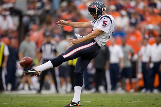Texans Punter Doesn't Think He's a Football Player