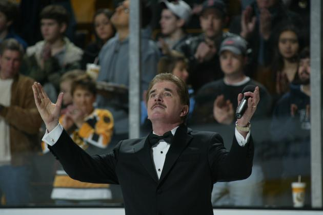 Rene Rancourt to Sing National Anthem for Worcester Sharks