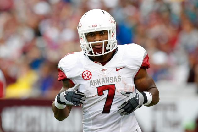 Knile Davis Makes Major Mistake by Declaring for 2013 NFL Draft