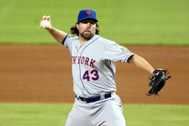 Rival Executive Says Rangers in the Market for Dickey