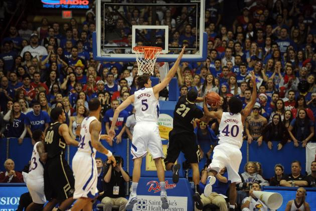Block Party Continues at a Record Pace for KU's Withey