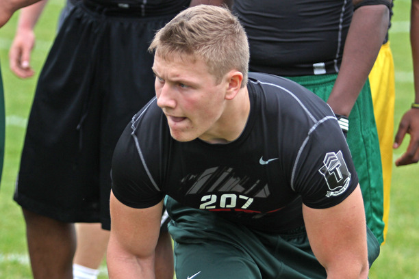 Michigan State Recruit Jon Reschke Tries to Sway Uncommitted Prospects