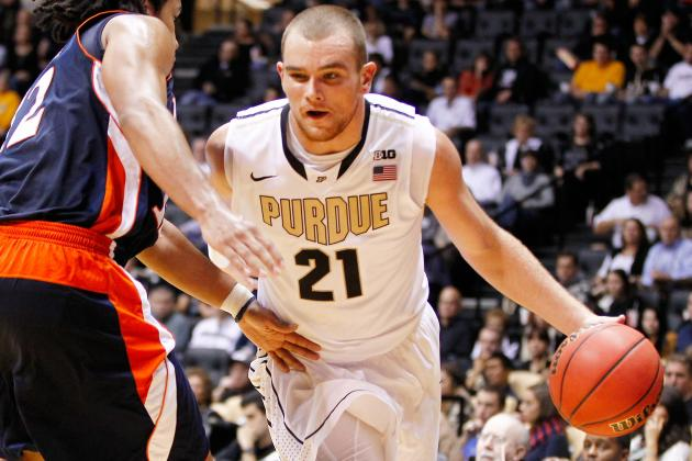 Boilers' D.J. Byrd Can't Get 3s to Drop