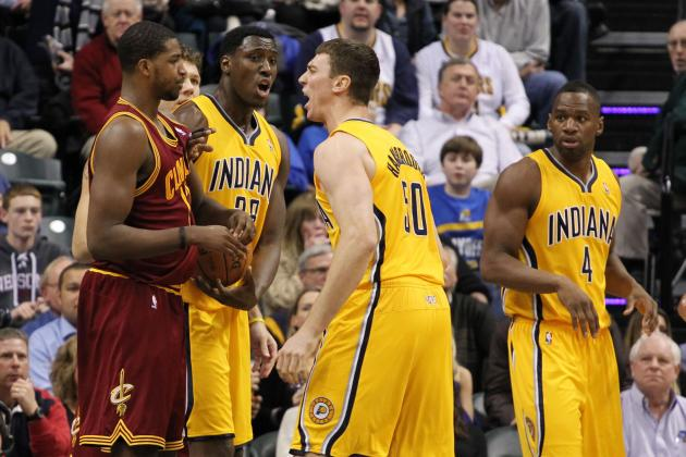 Tyler Hansbrough Protects Brother Ben