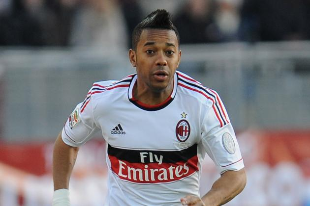 Agent: 'Robinho Staying at Milan'