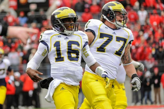 Big Ten Needs Michigan Wolverines to Win 2013 Outback Bowl vs. South Carolina