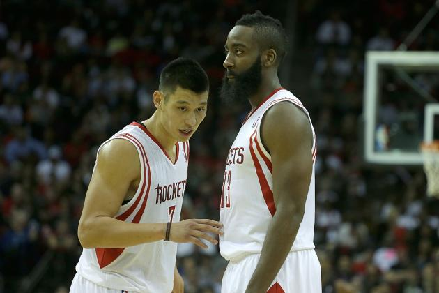 James Harden and Jeremy Lin Need Their Space in Houston Rockets Rotation