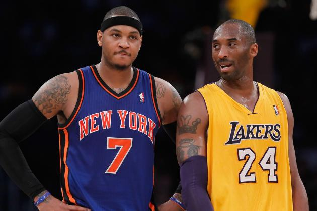 Los Angeles Lakers vs. New York Knicks: Live Score, Results and Game Highlights