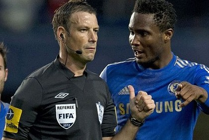 John Obi Mikel Happy to Be Reunited with Clattenburg