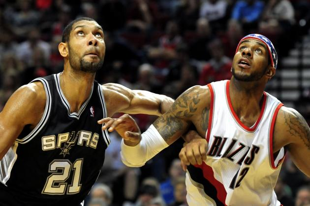 SA Spurs vs. Portland Trail Blazers: Live Score, Results and Game Highlights