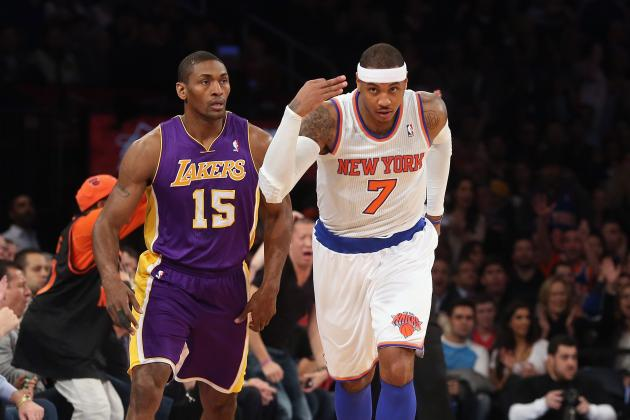 Los Angeles Lakers vs. New York Knicks: Live Analysis, Score Updates, Highlights