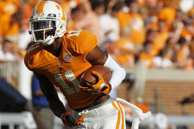 Tennessee WR Justin Hunter Reportedly Entering NFL Draft