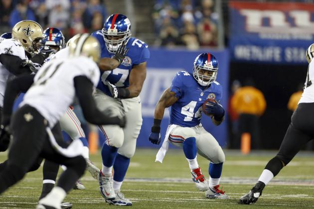 Ahmad Bradshaw: Pros and Cons of Giants Possibly Resting RB in Week 15
